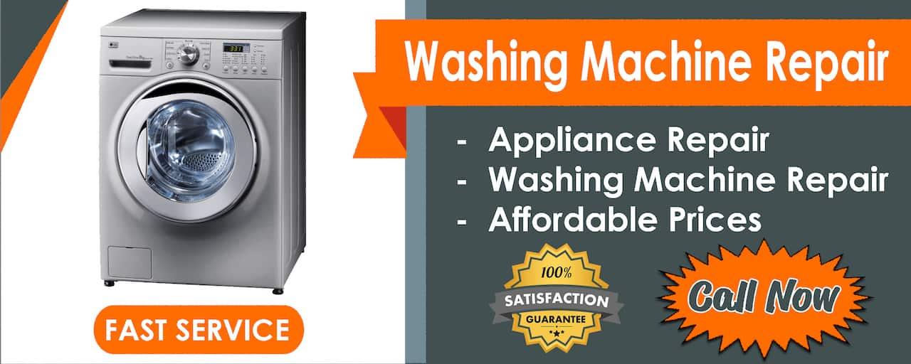 washing machine repair banner